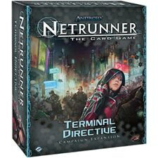 Android Netrunner LCG Terminal Directive Game