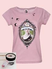 "~ * Les Cakes de Bertrand ""Chantilly"" shirt NEUF taille L Mademoiselle vintage *"