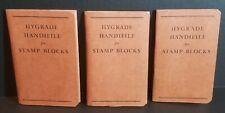 THREE ~  HYGRADE HANDIFILES FOR STAMP BLOCKS   (2)