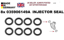 audi seat vw golf polo jetta fox 1.4 1.6 2.0 fuel injector seals 035906149a