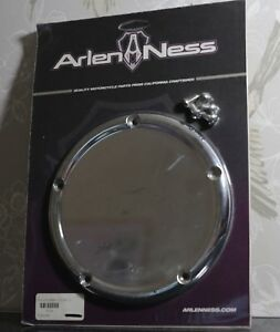 Arlen Ness Harley Davidson Radius 5 hole Derby Cover Chrome 03-740 RRP $160