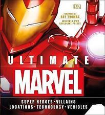Ultimate Marvel by DK (Hardback, 2017)