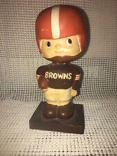 Vintage Browns Bobblehead Nodder NFL 1960's