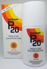Riemann P20 Once A Day Sun Protection SPF20 Medium Lotion 200ml
