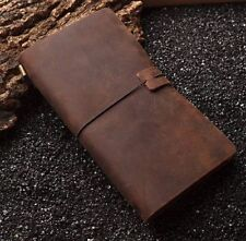 Classic Diary Journals Notebooks  Diaries genuine leather simple 0713