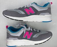 NEW BALANCE Castlerock Cm997hah Gray Pink Blue Running Shoes Men's Size 9.5