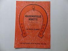 Partition Mademoiselle Ninette THE SOULFUL DYNAMICS ANDRE SALVET
