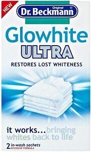 Dr Beckmann Glow White Ultra 40g-Restores Lost Whiteness UK