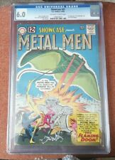 SHOWCASE #37 1962 (CGC 6.0) (1st APPEARANCE OF THE METAL MEN)