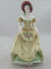 "Vintage - Coalport England Penelope Porcelain Figurine 6 1/2"" Tall"