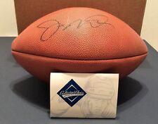 Joe Montana Signed Official NFL 75th Anniversary Football UDA AA118785