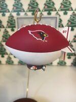 Arizona Cardinals Christmas Hallmark Keepsake NFL Football Ornament New In Box