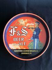 F&S Tray - Fuhrmann and Schmidt Brewing - Shamokin, Pa