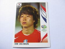 Sticker PANINI Fifa World Cup GERMANY 2006 N°501 South Korea Kim Do-Heon