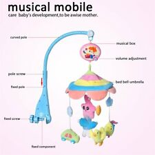 Toddler Baby Mobile Crib Windup Movement Music Machine Toy Stroller Bed Bell US