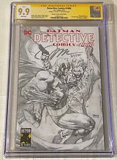 Detective Comics 1000 CGC 9.9 SS Jim Lee Sketch Variant Torpedo Numbered Variant