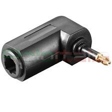 Adattatore angolo90 ruotabile audio TOSLINK ingresso stereo cavo ottico digitale