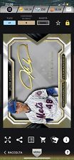 Topps Bunt Iconic MLB Jacob DeGrom New York Mets 9cc Five Star 2019 Autograph