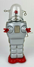 HA HA TOY Wind Up Walking Robot Retired 10 inches Tall