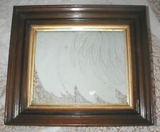 "Large Vintage Heavy Wood Gold Gilt Multi Layer Picture Frame  14"" x 16"" Antique"