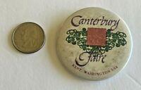 Vintage Canterbury Faire Kent Washington Pinback Button