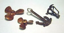 Lorry Load Marine propellers Anchors F231 UNPAINTED OO Scale Langley Models Kit