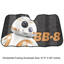 New Star Wars BB-8 Robot Car Truck Front Windshield Accordion Folding Sun Shade