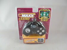 VS MAXX Casino 10 Games TV Hand Held Game Featuring Texas Hold Em NOS