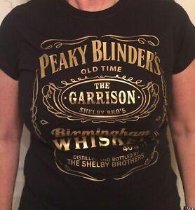 PEAKY BLINDERS - FEMALE -  100% COTTON  T-SHIRT