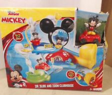NEW Fisher-Price Disney Mickey Mouse Zip, Slide and Zoom Clubhouse $70