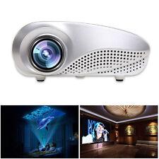 1080P HD LED Home MulitMedia Theater Cinema USB TV VGA SD HDMI Mini Projektor