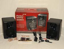 M-Audio Studiophile AV 30 Aktiv Lautsprecher Stereo Sound Boxen Speaker HiFi OVP