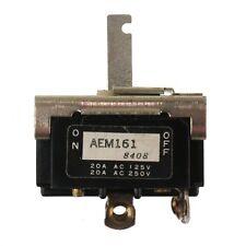 Otax AEM161 Momentary Switch, DPST, 20A 250VAC