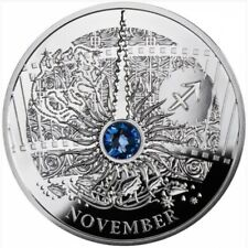 Niue 2013 1$ NOVEMBER The Magic Stones of Happiness Proof silver Coin