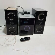 LG FA-163B0P Micro Hifi System With iPod Dock & Speakers + Remote
