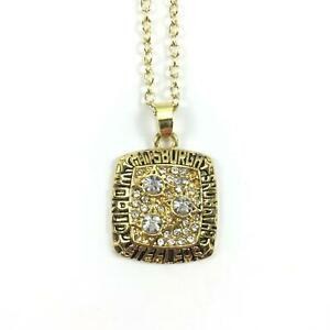 USA Pittsburgh Steelers Super Bowl Championship Ring Inspired Pendant Necklace