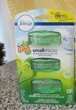 Febreze Small Spaces Gain Original Air Freshener Refills 3 Refills