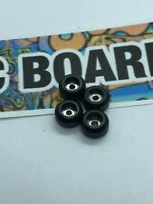 LC BOARDS Fingerboard Bearing Wheels High Quality Brand New- Black