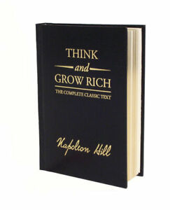 NEW Think and Grow Rich Deluxe Edition By Napoleon Hill Hardcover Free Shipping