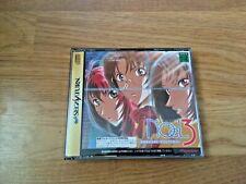 NOeL 3 Mission on the Line Special Edition SEGA SATURN NTSC-J Japan Import