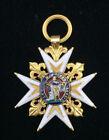 RARITÄT Orden 1769-1821 Emaille Antik Militaria Bell Virtutis Pram Ludwig XVIII