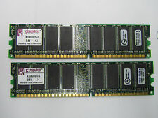 Kingston 1GB (2x512MB) DDR PC3200 Low Density Desktop Memory