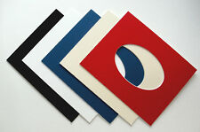 """Photo / Picture Mounts Oval aperture for frame size 12"""" x 10"""""""
