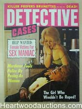 """Detective Cases"" October 1970"