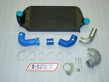 Corrado 16VG60 Ladeluftkühler Kit 180° Laderbogen Silikonschläuche Blau