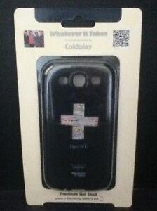 Samsung Galaxy S III Phone Coldplay Black Premium Gel Shell Case WUS-GS3-GCP01