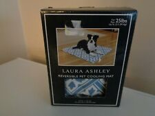 "LAUREN ASHLEY REVERSIBLE PET COOLING MAT 12""X16"" FOR PETS UP TO 25#~NEW"