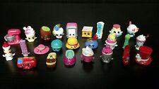 Lot of 24 Shopkins Mixed Season 3 4 Moose Toys Loose Cute Collection Food Fair
