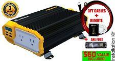 KRIËGER® 1100 Watt 12V Power Inverter MET UL CSA