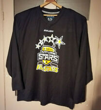 Bauer New England Future Stars Hockey Jersey Mens Size Xl Black